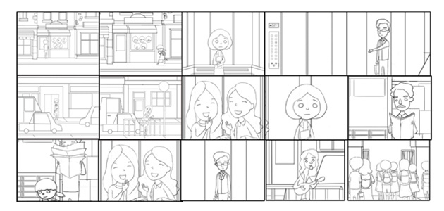 2d storyboard